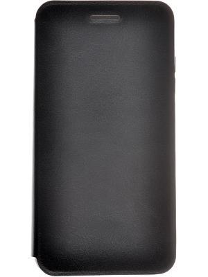 Кейс-книжка для Micromax Canvas Spark Q380 skinBOX. Цвет: черный