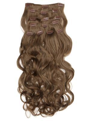 Накладные волосы, пряди на заколках-клипсах Lana VIP-PARIK. Цвет: светло-коричневый