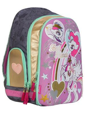 Рюкзак. My Little Pony. Цвет: золотистый, серый, розовый