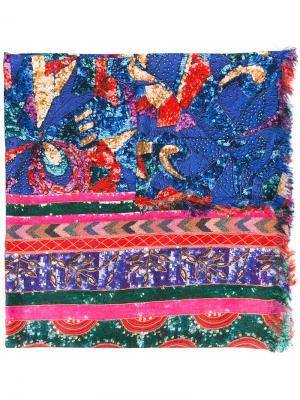 Декорированный шарф Pierre-Louis Mascia. Цвет: многоцветный