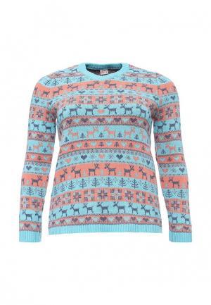 Пуловер Vay. Цвет: разноцветный