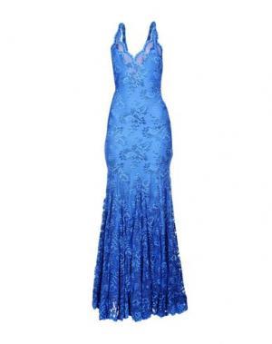 Длинное платье BALENSI. Цвет: пастельно-синий