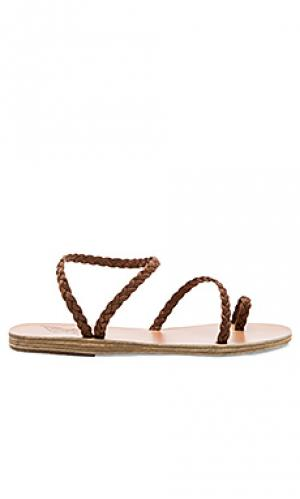 Сандалии eleftheria Ancient Greek Sandals. Цвет: коричневый