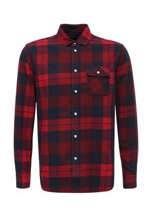 Рубашка Baon. Цвет: бордовый