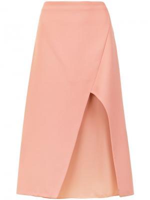 Midi skirt Giuliana Romanno. Цвет: розовый и фиолетовый