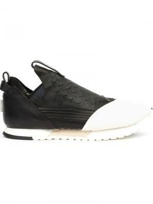Кроссовки с контрастным носком Artselab. Цвет: чёрный