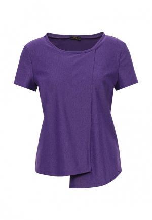 Футболка спортивная Dali. Цвет: фиолетовый