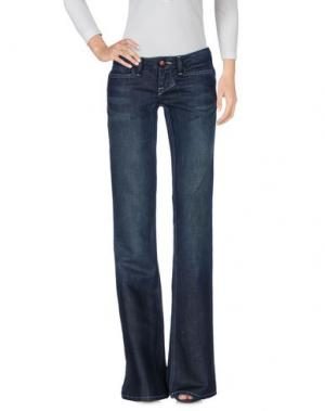 Джинсовые брюки WILLIAM RAST. Цвет: синий