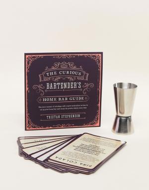 Books Книга с рецептами коктейлей Curious Bartenders. Цвет: мульти