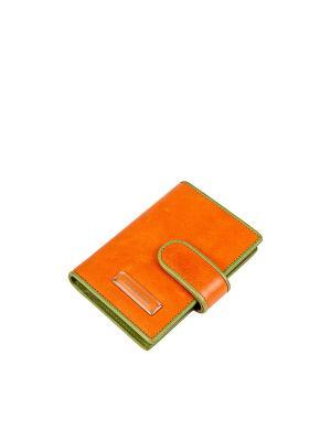 Визитница Eleganzza. Цвет: оранжевый