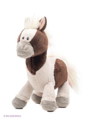 Пони Пунита, стоячая, 25 см NICI. Цвет: молочный, коричневый