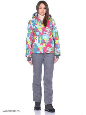 Куртка High Experience. Цвет: светло-зеленый, фуксия, лазурный