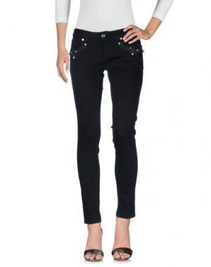 Джинсовые брюки EUREKA. Цвет: черный