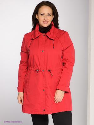 Куртка BELLA Maritta. Цвет: красный