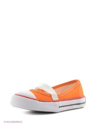 Балетки 4U. Цвет: оранжевый