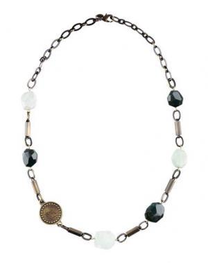 Ожерелье LIU •JO. Цвет: бронзовый