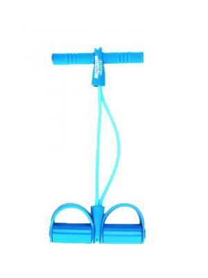 Эспандер для укрепления мышц рук и плечевого пояса, ЭВА SilaPro. Цвет: синий