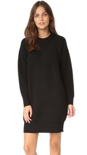 Платье-свитер Tessie DEMYLEE. Цвет: голубой