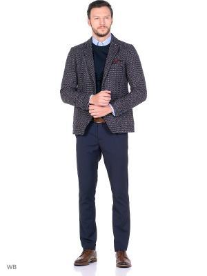 Пиджак United Colors of Benetton. Цвет: серо-коричневый