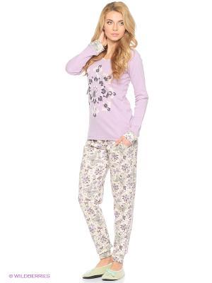 Женская пижама NICOLETTA. Цвет: фиолетовый