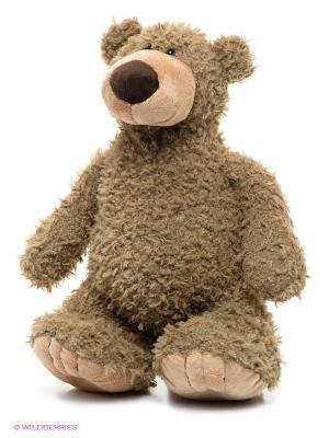 Медведь Серый 36 см. MAXITOYS. Цвет: бежевый