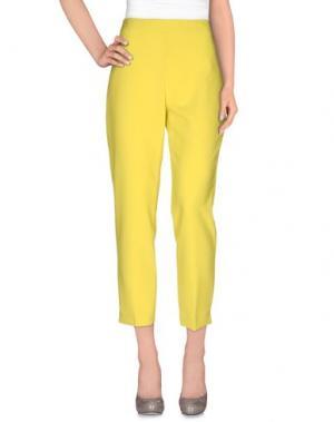Повседневные брюки CLIPS. Цвет: кислотно-зеленый