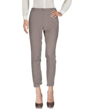 Повседневные брюки MYF. Цвет: хаки