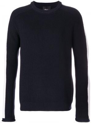 Chunky ribbed pullover 3.1 Phillip Lim. Цвет: синий