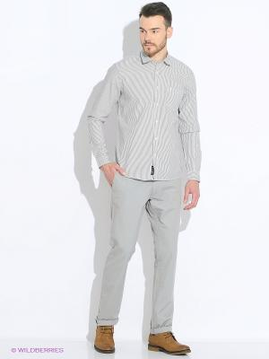 Рубашка MAVI. Цвет: серый, светло-серый