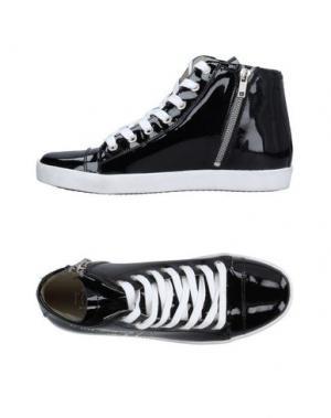 Высокие кеды и кроссовки ALVIERO MARTINI 1a CLASSE. Цвет: черный