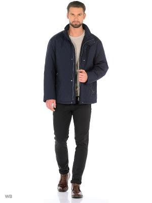 Куртка Donatto. Цвет: синий