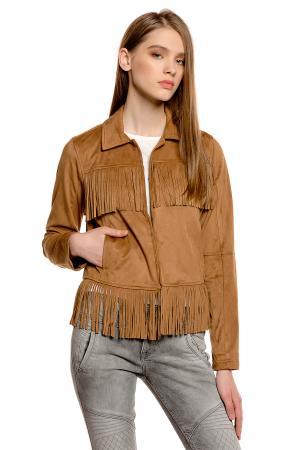 Куртка Denim 372211100711000 TOM TAILOR. Цвет: выбеленный деним