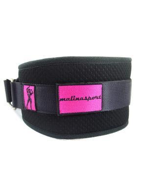 Атлетический пояс Малинаспорт Black Malinasport. Цвет: черный