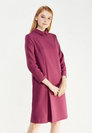 Платье Emka. Цвет: фиолетовый