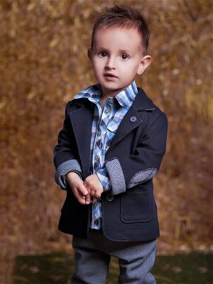 Пиджак babyAngel. Цвет: синий