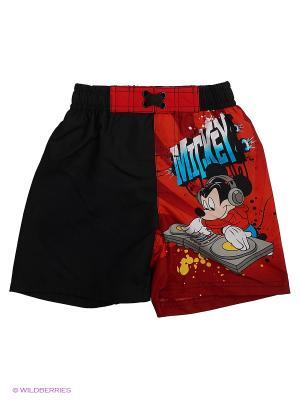 Бордшорты Disney. Цвет: черный