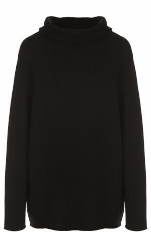 Кашемировый свитер свободного кроя The Row. Цвет: черный