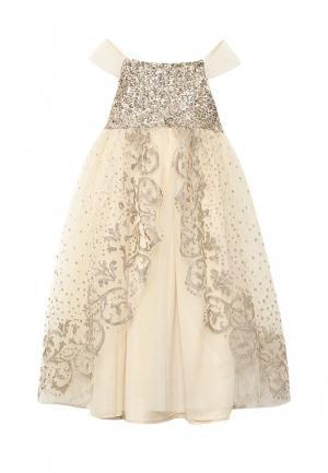 Платье Acoola. Цвет: золотой