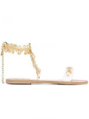 Сандалии NYX Ancient Greek Sandals. Цвет: белый