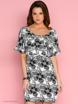 Платье Dept. Цвет: черный, белый