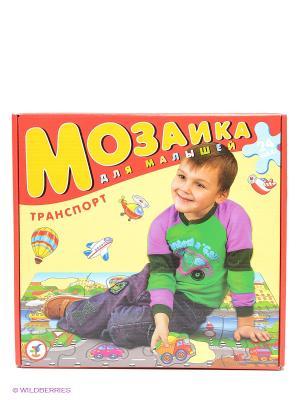 Мозаика для малышей Транспорт Дрофа-Медиа. Цвет: желтый, красный