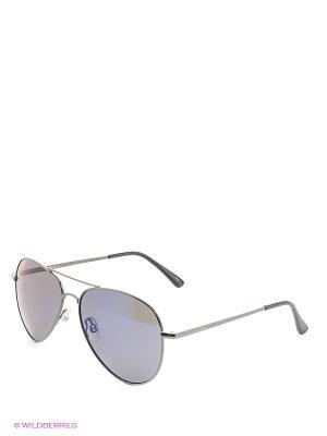 Солнцезащитные очки Polaroid. Цвет: синий