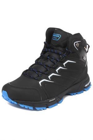 Ботинки Patrol. Цвет: черный,синий