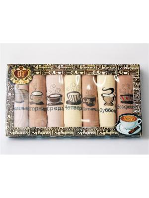 Подарочный набор из 7 вафельных полотенец кофе неделька. Домтекс. Цвет: бежевый, молочный, бледно-розовый, светло-желтый, прозрачный, красный, фуксия, коралловый, оранжевый, розовый, горчичный, золотистый, персиковый, кремовый, желтый, белый, черный, темно-синий, синий, лазурный, зеленый, морская волна, темно-зеленый, бирюзовый, антрацитовый, серо-коричневый, индиго, темно-коричневый, сливовый, светло-зеленый, серо-голубой, темно-бордовый, хаки, оливковый, серый, темно-красный, терракотовый, темно-фиолетовый, салатовый, бордовый, коричневый, темно-серый, серо-зеленый, голубой, светло-голубой, серебристый, сиреневый, бронзовый, светло-коричневый, светло-серый, рыжий, лиловый, малиновый, серый меланж, светло-оранжевый, фиолетовый, светло-коралловый, светло-бежевый, темно-бежевый