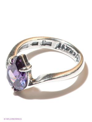 Кольцо Jenavi. Цвет: фиолетовый
