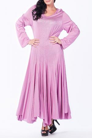 Платье Moda di Lorenza. Цвет: розовый