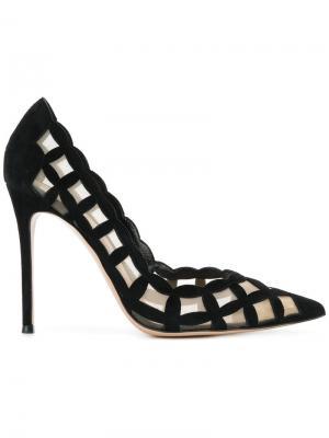 Туфли-лодочки Grace Gianvito Rossi. Цвет: чёрный