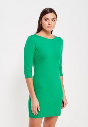 Платье Фэст. Цвет: зеленый