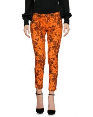 Повседневные брюки RRD. Цвет: оранжевый