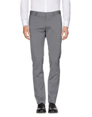 Повседневные брюки KARL LAGERFELD. Цвет: серый